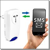 Недорогие GSM розетки с сигнализацией  в интернет магазине