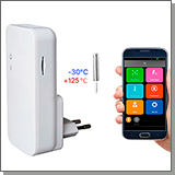 GSM датчик температуры воздуха с gsm модулем