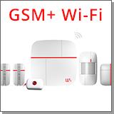 Беспроводная GSM/Wi-Fi сигнализация «Страж Smart-GSM» общий вид