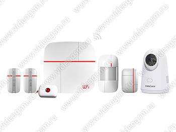 """Беспроводная GSM/Wi-Fi сигнализация с IP камерой """"Страж Видео-Home"""" общий вид"""